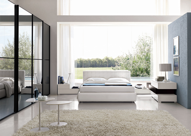 meubles fuscielli nice 06 chambres contemporaines chambre milos. Black Bedroom Furniture Sets. Home Design Ideas