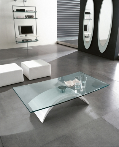 Table basse contemporaine en verre - Table basse contemporaine design ...