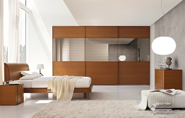 Meubles fuscielli nice 06 chambres contemporaines for Idee deco chambre contemporaine