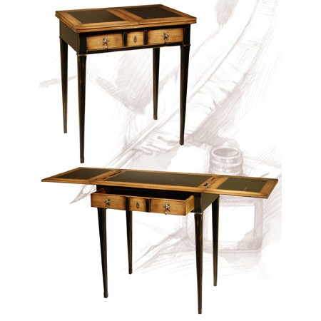 meubles fuscielli nice 06 meubles gain de place classiques table crire tirettes. Black Bedroom Furniture Sets. Home Design Ideas